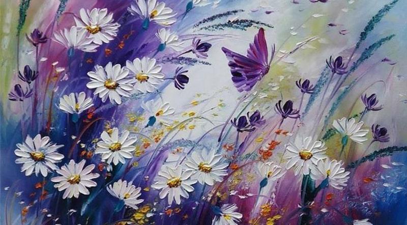 Правополушарное рисование цветов